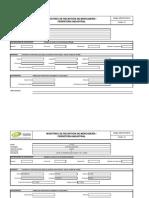 GOPS-OLP-RG-01 Formato de Muestreo de Recepción de Mercadería - Ferreteria Industrial