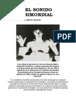 Luis Alberto Spinetta - Clinica - EL SONIDO PRIMORDIAL