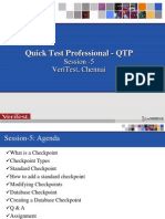 QTP Training Session5-Checkpoints