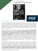 A legitimidade de um golpe de Estado.pdf