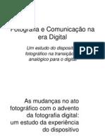 Fotografia e Comunicação na era Digital