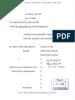 Taitz v Astrue Motion for Reconsideration 10-12-13