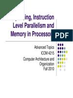 Pipe Lining i Lp Memory