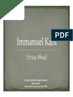 Unidad 4 Immanuel Kant - Laura Cristina García Mira