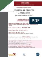 Fascicule Hygiene Securite