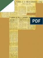 Dn Letras - o Problema Da Terra e o Reacionario Jose