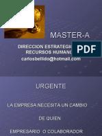 Direccion Estrategica de Recursos Humanos