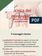 Tecniche Di Massaggio in Riabilitazione