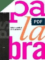 Gadamer. Arte y Verdad de La Palabra