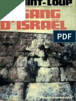 Augier Marc - Le Sang d'Israël