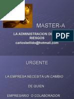 La Admin is Trac Ion de Los Riesgos