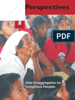 Data Disaggregation for Indigenous Peoples