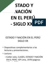 CLASES, ESTADO Y NACIÓN EN EL PERÚ - SIGLO XX.ppt