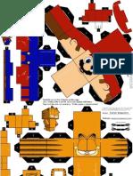 Garfield y Mario Bros