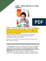 Autismo Infantil - Como Decirle a Tu Hijo Que Tiene Autismo