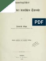 Das Etymologische Wörterbuch der deutschen Sprache (1899)
