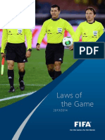 FIFA, Laws of the Games (2013 14)