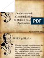 Organizational Communication and Hr Dept