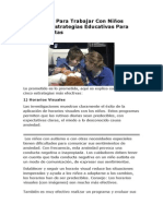 Estrategias Para Trabajar Con Niños Autistas - Las 5 Estrategias Más Efectivas
