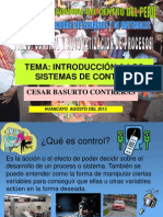 Sistemas de Control 2013-II