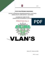 PracticaNo.4VLAN's