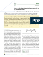 PLGA Nanoparticles Improve the Oral Bioavailability of Curcumin In