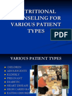 Nutritional Counseling for Various Patient Types (1)