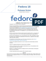 Fedora 18 Release Notes en US