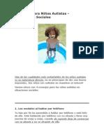 Consejos Para Niños Autistas - Situaciones Sociales