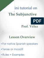 velez ist501 pp subjunctive