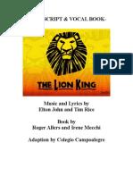 The Lion King Script