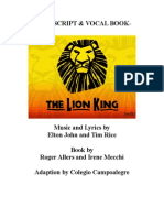 The Lion King Script