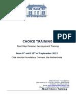 Choice 6-11 Sep 2013