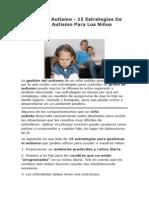 15 Estrategias De Gestión Del Autismo Para Los Niños Autistas