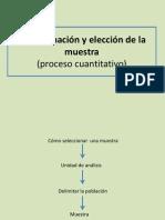 Determinacion y Eleccion Muestra