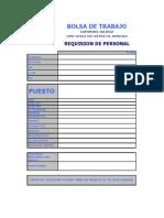 Formato Req E-mail