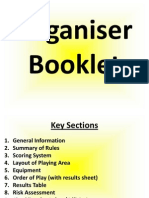 organiser booklet weebly info