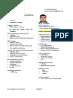 SAP Testing Tarakesh