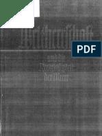 Aall, Herman - Weltherrschaft und die Rechtlosigkeit der Meere (1940)