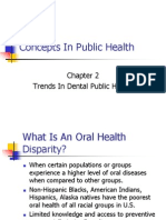 Concepts in Dental Public Health Ch 2