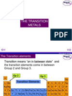 KS4 Transition Metals