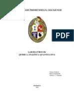 Apostila Laboratorio Quimica Analitica Quantitativa