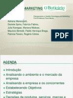 Plano de Marketing Boticario