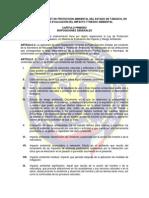 Reglamento de La Ley de Proteccion Ambiental Del Estado de Tabasco
