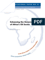 Enhancing the Governance of Africa s Oil Sector By Doaglas Yates