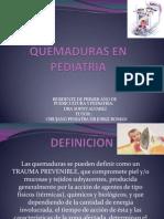 Quemaduras en Pediatria