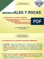 Clase 4 - Minerales y Rocas