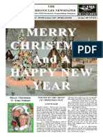 The 'X' Chronicles Newspaper - December 2007