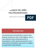 MANEJO DEL NIÑO POLITRAUMATIZADO