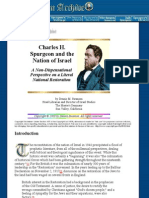 Charles H. Spurgeon and the Nation of Israel (Not Amil or PreTrib,Or Dispensational or PostMil)